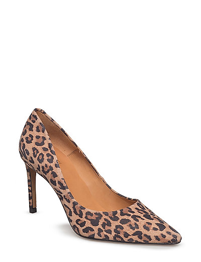 PUMPS - LEOPARDO SUEDE 545