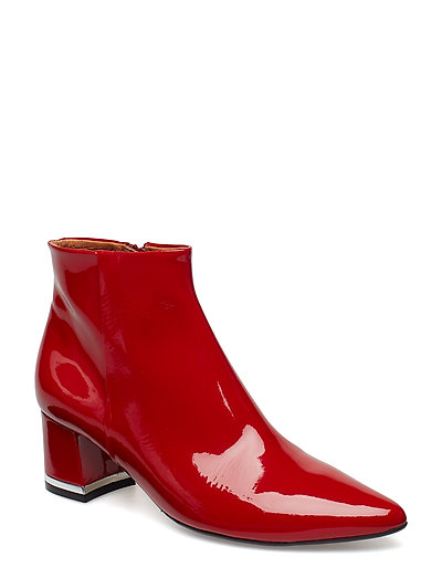 BOOTS - RED PATENT 290