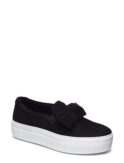 SHOES - BLACK SUEDE/BLACK LINING 50