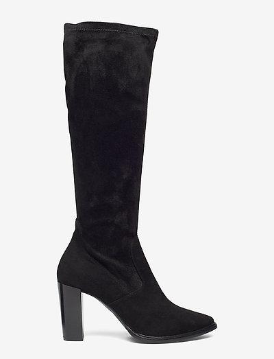 Billi Bi Long Boots 3396- Stiefel Black Suede/black Stretch 500
