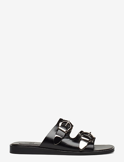 Billi Bi Slipper 4175- Sandały Black Calf/silver 803