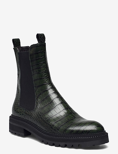 Boots - chelsea støvler - green luisiana croco 17