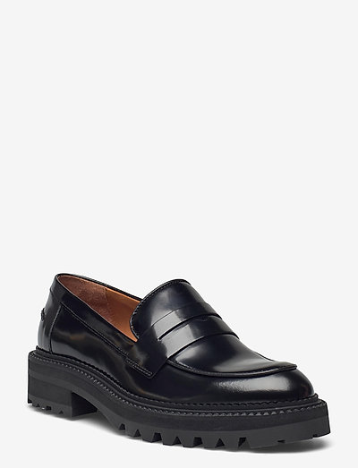 Shoes A1360 - loafers - black polido  900