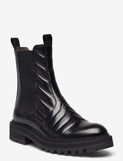 Boots - chelsea støvler - black calf 80