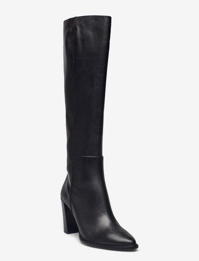 Long Boots A7793 - langskaftede - black calf 80