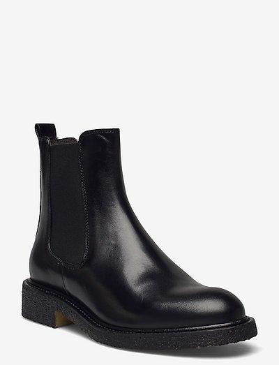 Boots A7952 - chelsea støvler - black calf 80