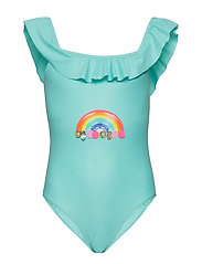SWIMMING COSTUME - TURQUOISE