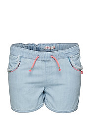 DENIM SHORTS - BLEACH