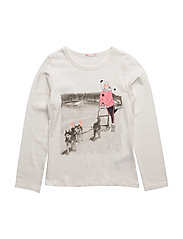 T-SHIRT - OFF WHITE  PINK