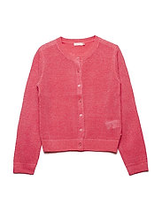 KNITTED CARDIGAN - FUSCHIA