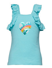 TANK TOP - TURQUOISE
