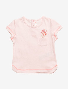 T-SHIRT - short-sleeved - ice pink