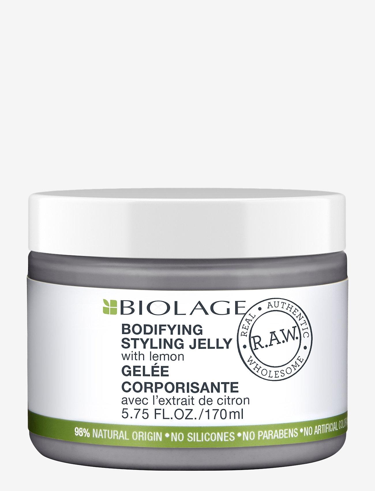 Biolage - Biolage R.A.W. Bodyifying Meringue with Lemon - vahat & geelit - clear - 0