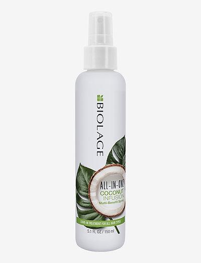 Biolage All-In-One Coconut Infusion Spray - hårspray - no colour