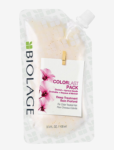 Biolage ColorLast Deep Treatment Pack - hårkur - clear