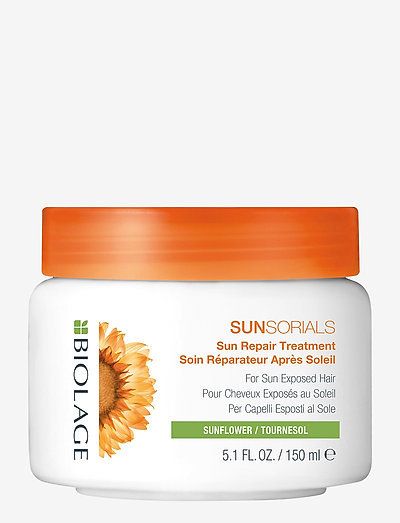 SunSorials AfterSun Mask 250ml - hårmasker - clear