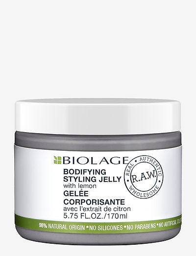 Biolage R.A.W. Bodyifying Meringue with Lemon - vahat & geelit - clear