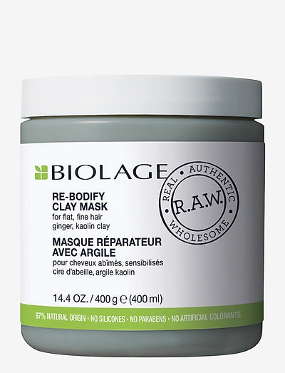 Biolage R.A.W Re-Bodify Clay Mask - CLEAR