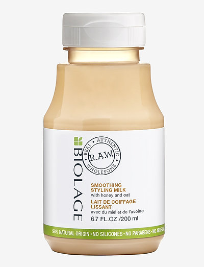 Biolage R.A.W. Smoothing Yogurt with Honey & Oats - stylingkrem - clear