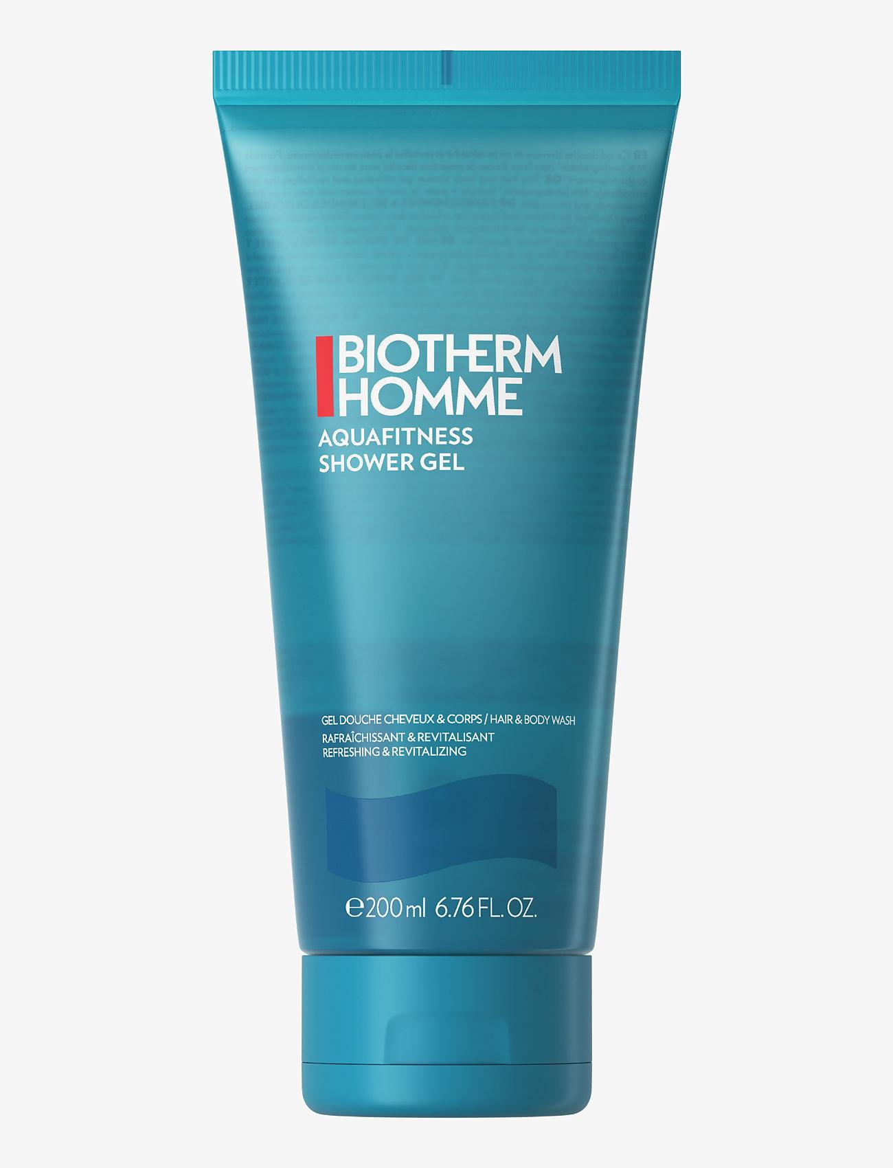 Biotherm - Aqua-Fitness Homme Shower Gel - Body & Hair - shower gel - clear - 0