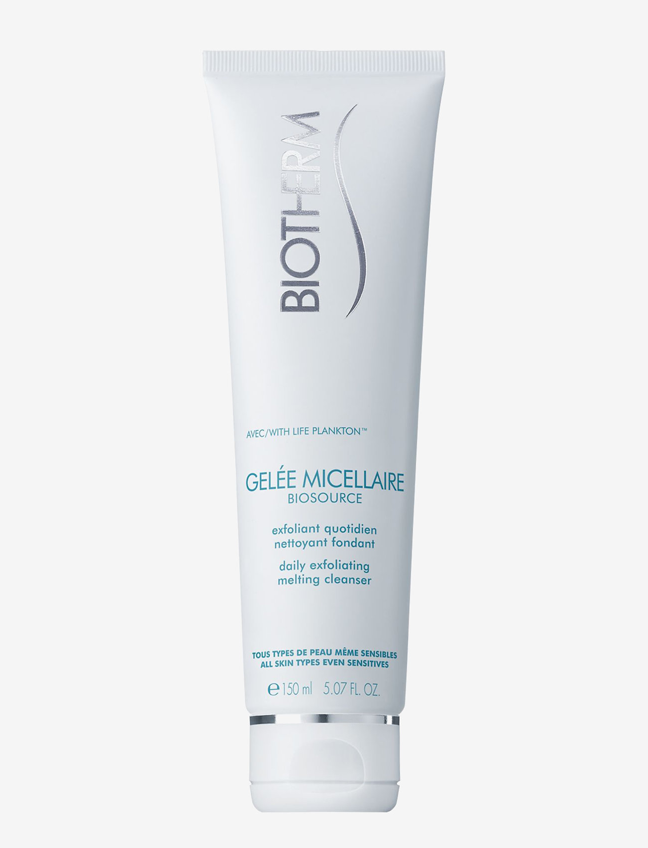 Biotherm - Biosource Daily Exfoliating Melting Cleanser - peeling - clear - 0