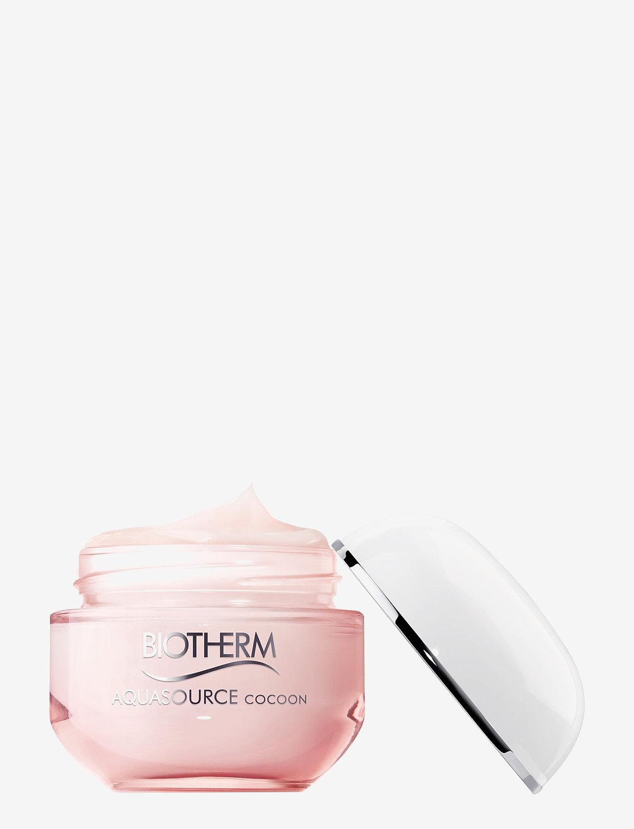 Biotherm - Aquasource Cocoon Gel Cream - Normal/Dry Skin - dagkräm - clear - 1