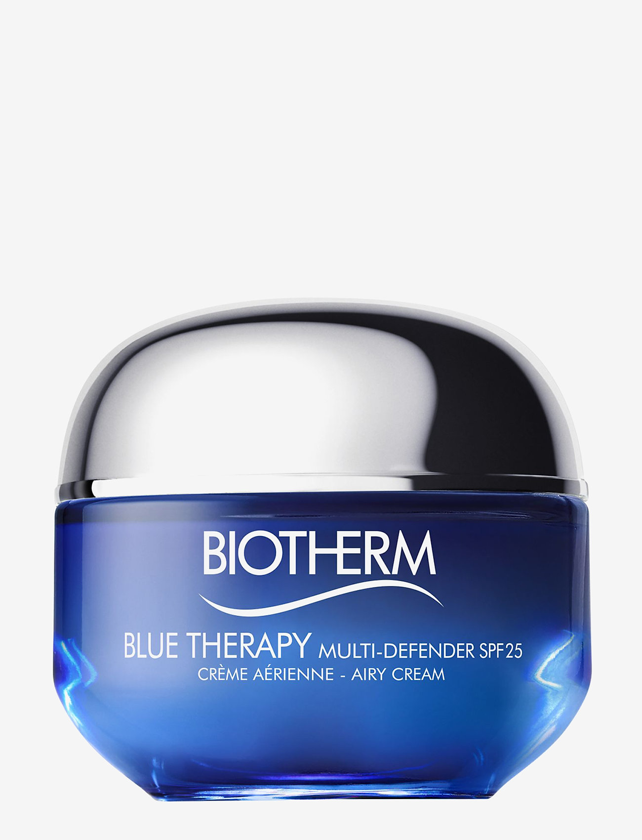 Biotherm - Blue Therapy Multi-Defender Cream SPF25 - Normal/Combination - ansiktsvård - clear - 0