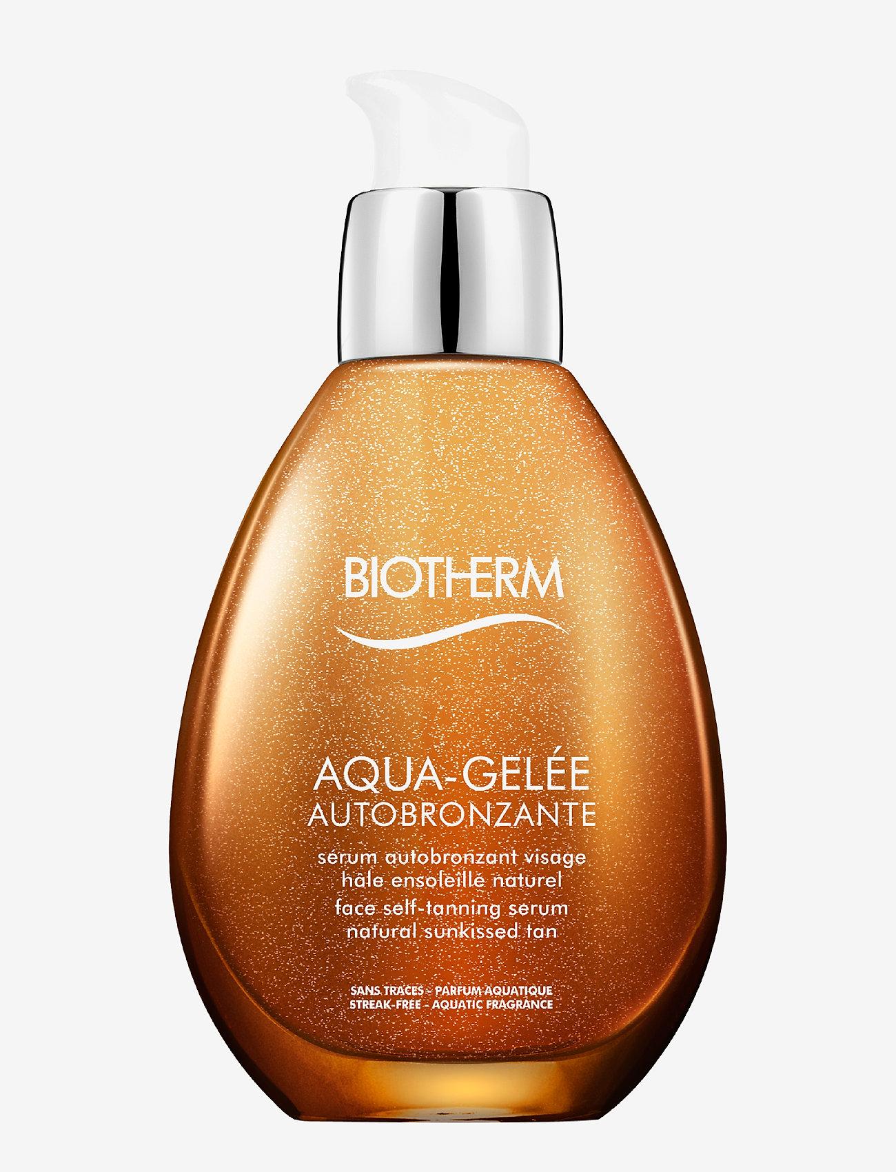 Biotherm - Autobronzant Aqua Serum Autobronzant Face - brun utan sol - clear - 0