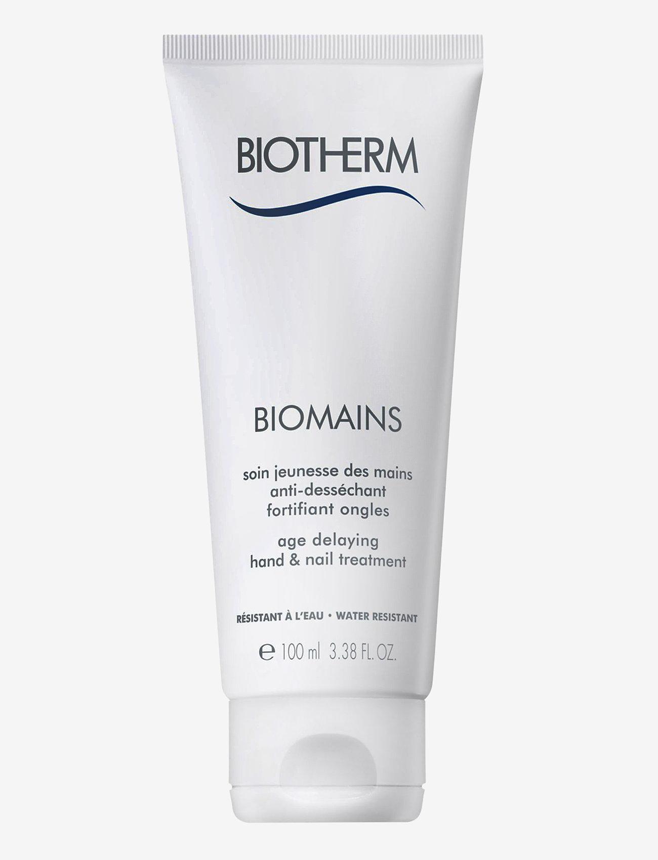 Biotherm - Biomains Hand Cream 100ml - handkräm & fotkräm - clear - 0