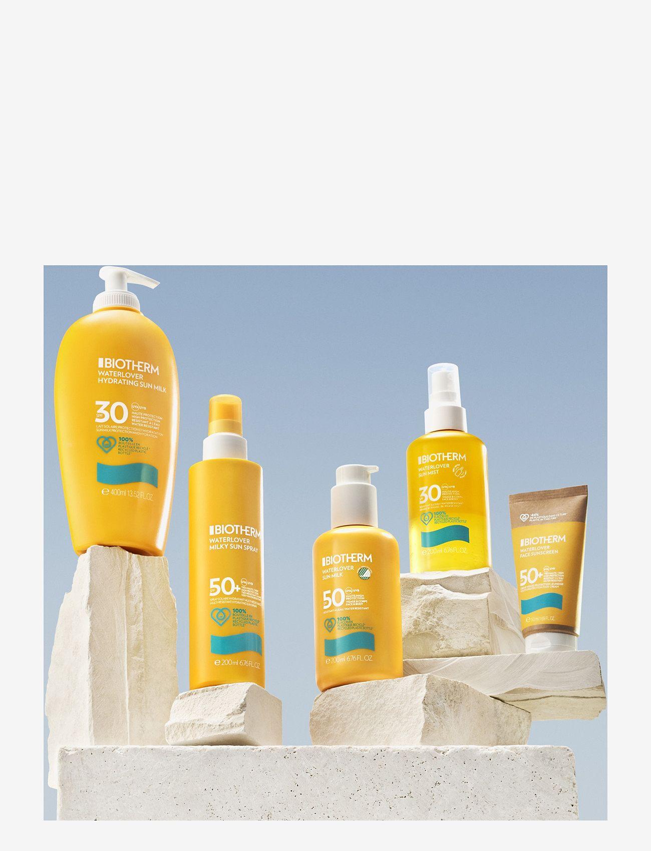 Biotherm - Waterlover Sun Milk SPF 50 - kropp - clear - 1