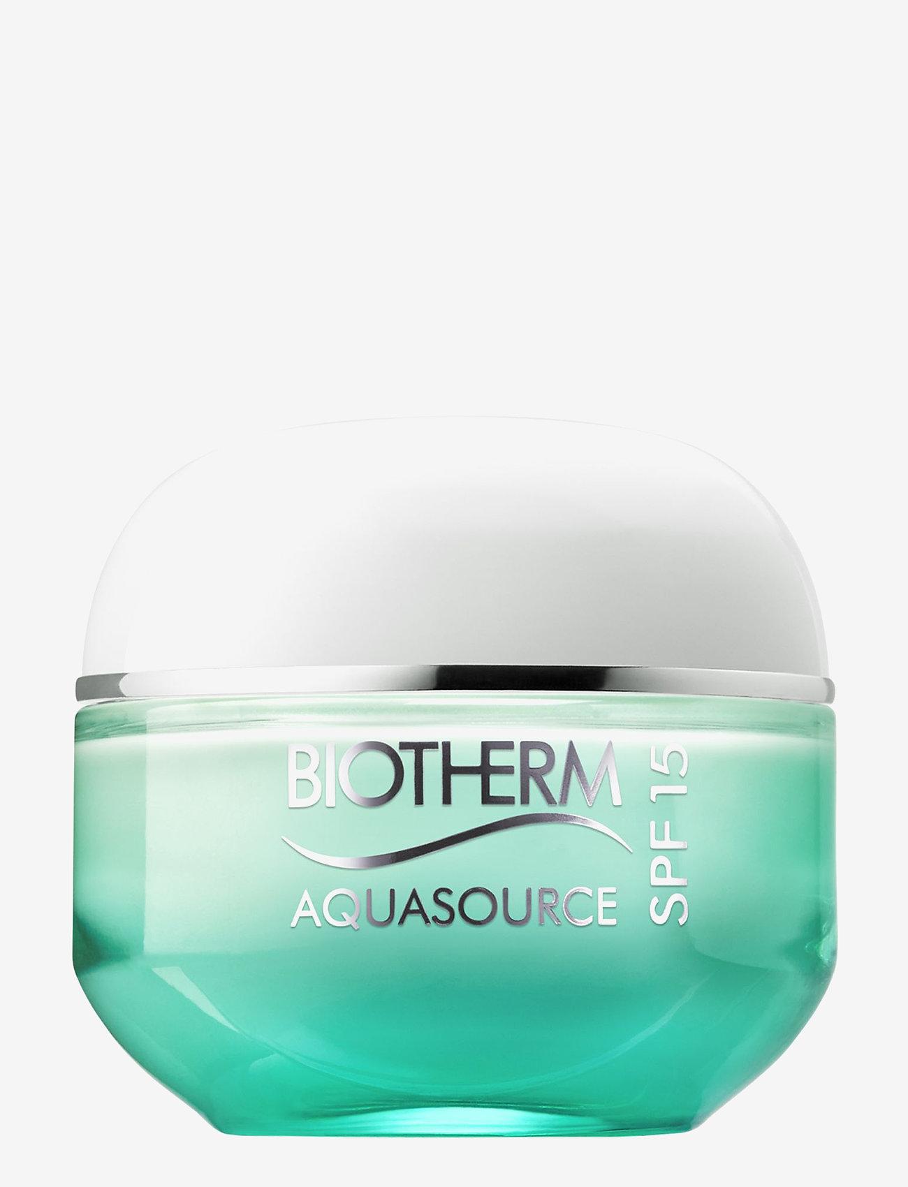 Biotherm - Aquasource Cream SPF15 - Normal/Combination skin - dagcreme - clear - 0