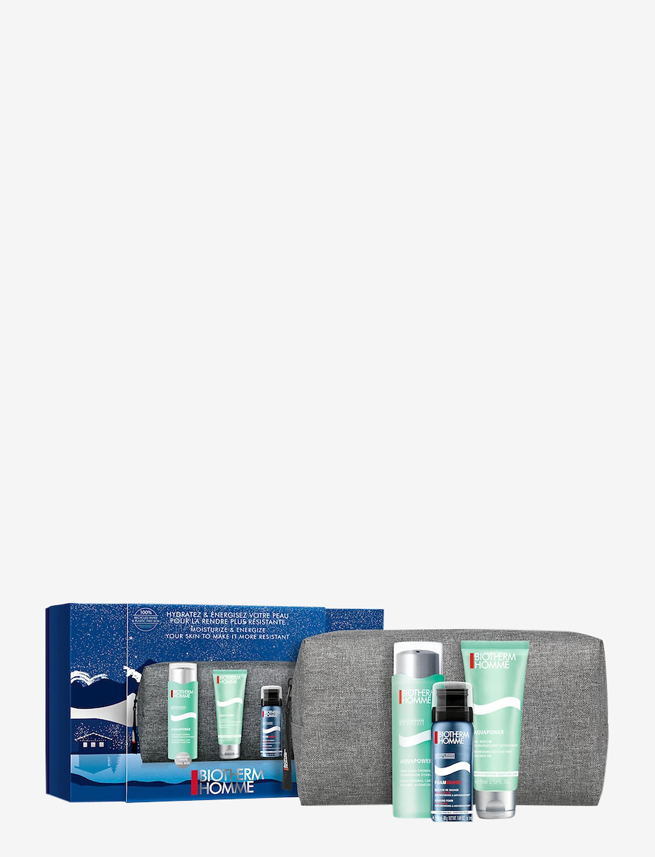 Biotherm - Homme Aquapower Christmas Set 2020 - giveaways - no colour - 0