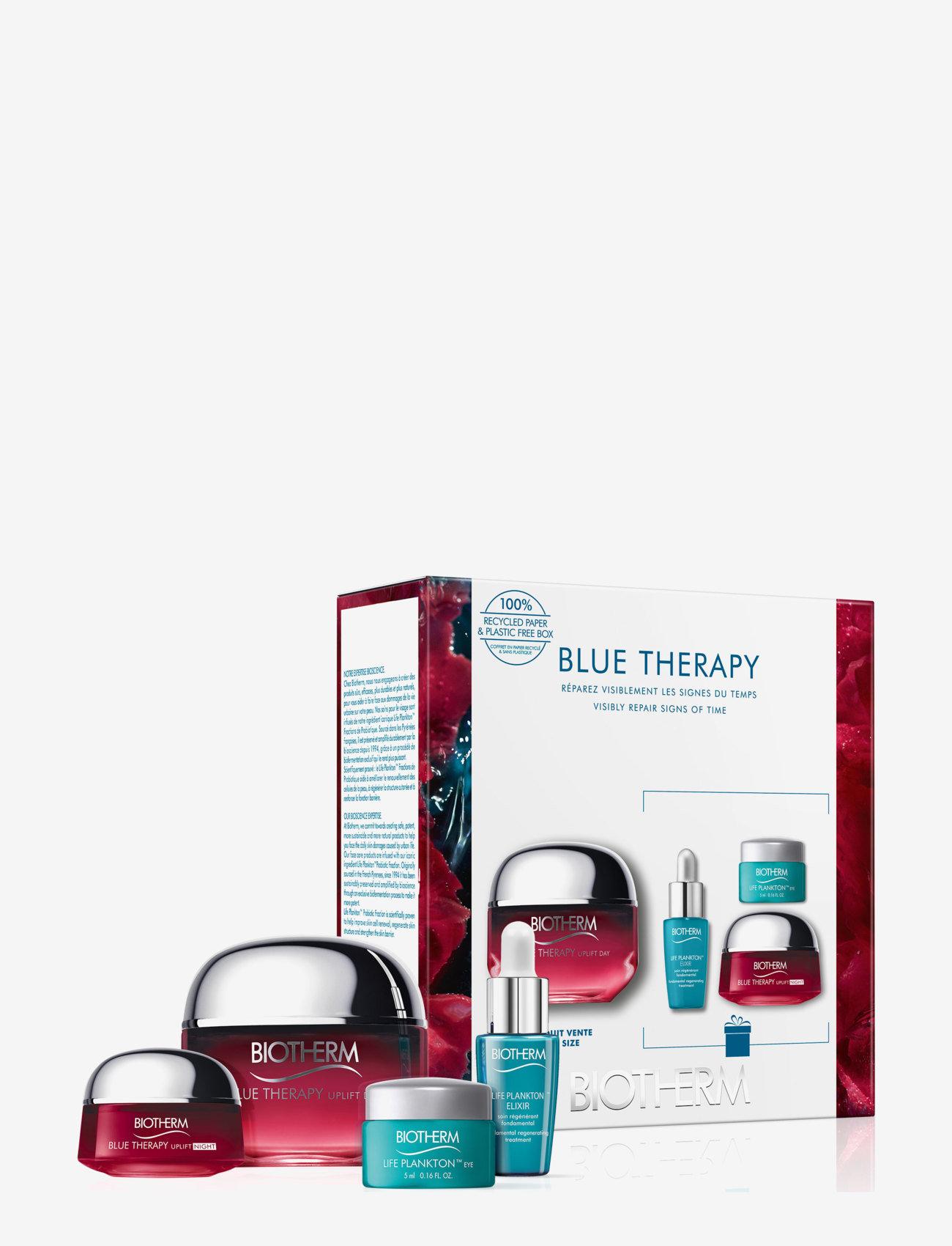 Biotherm - Blue Therapy Red Algae Cream 50ml Set - presentaskar - clear - 0