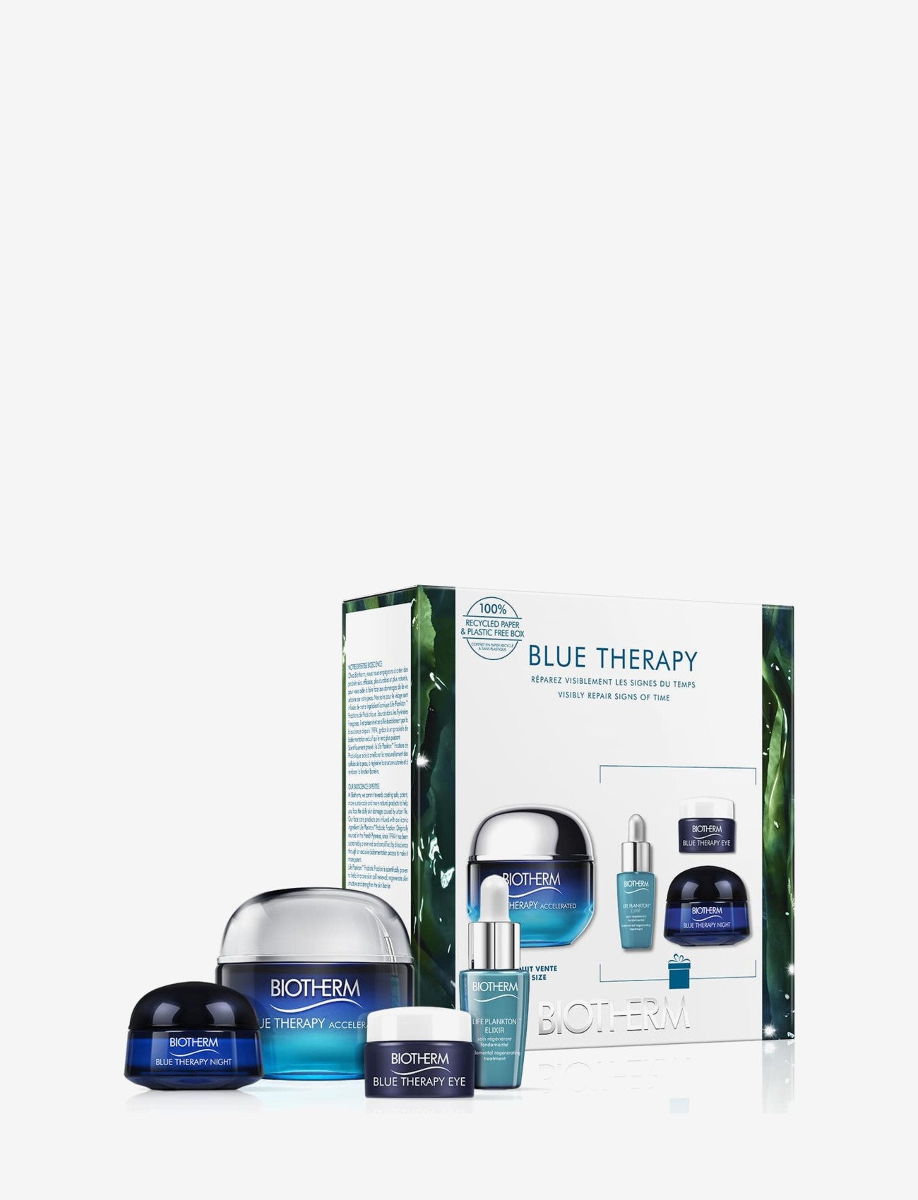 Biotherm - Blue Therapy Acceleranted 50ml Woman Set - kroppsvårdsset - clear - 0