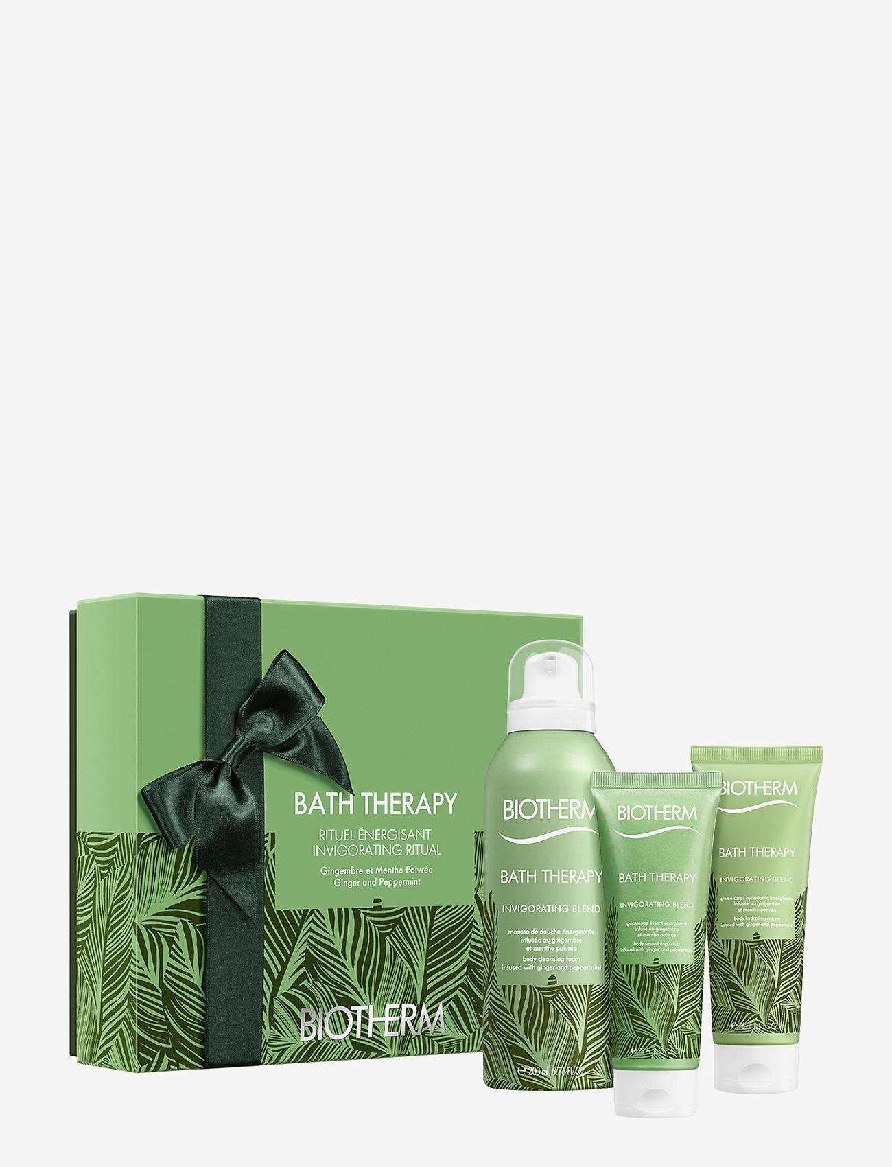 Biotherm - Bath Therapy Invigorating Blend Box - kroppsvårdsset - no color - 0
