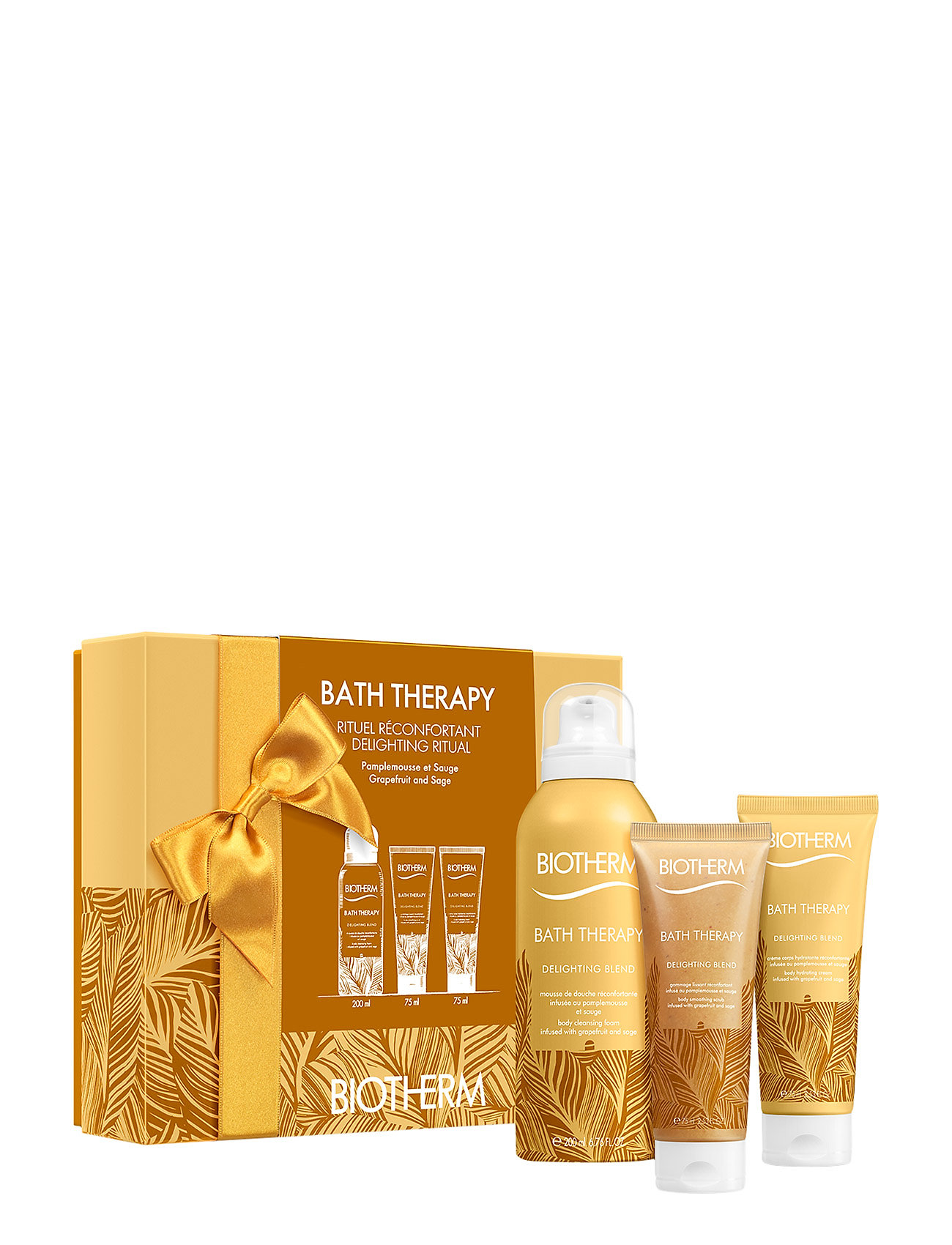 Image of Bath Therapy Delighting Blend Set 1 Sæt Bath & Body Nude Biotherm (3067486563)