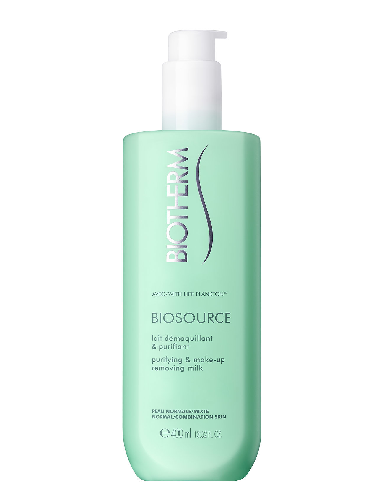 Biotherm Biosource Cleansing Milk Pnm 400 ml