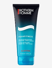 Biotherm - Aqua-Fitness Homme Shower Gel - Body & Hair - bad & dusch - clear - 0