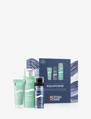 Biotherm - Aquapower PNM F75ml Men Set - presentaskar - clear - 0