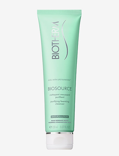 Biosource Purifying Foaming Cleanser - rengöringsgel - clear