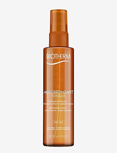 Autobronzant Tan & Tone Selftan Spray Body - tanning - clear