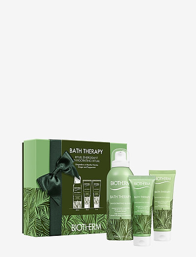 Bath Therapy Invigorating Blend Christmas Set - bath & body sæt - clear