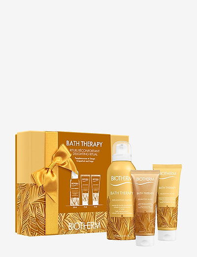 Bath Therapy Delighting Blend Set - bath & body sæt - clear