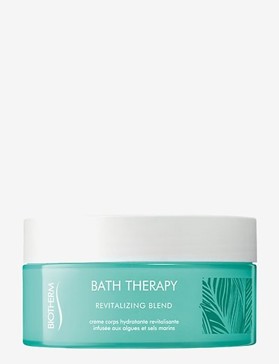 Bath Therapy Revitalizing Blend Body Cream - shower gel - clear