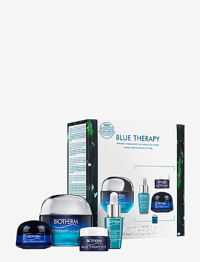Blue Therapy Accelerated Value gift set - hudpleiesett - clear