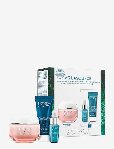 Aquasource Crema Ps 50 ml gift set - hudpleiesett - clear