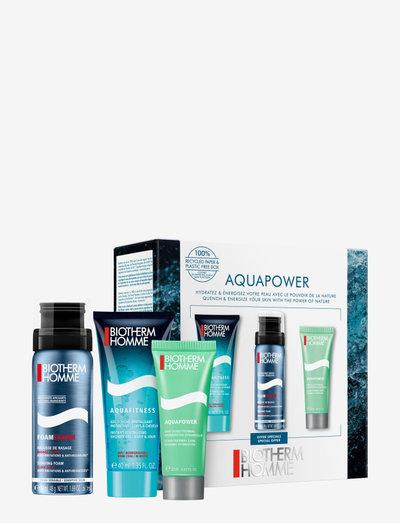 Biotherm Aquapower Gifting Starter Kit - lahjapakkaukset - clear
