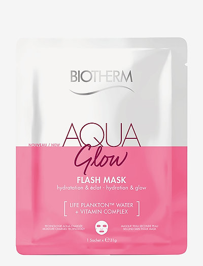 Aqua Glow Flash Mask - sheet mask - clear