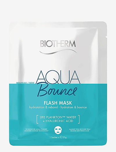 Aqua Bounce Flash Mask - sheet mask - clear