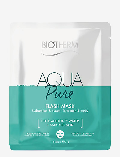 Aqua Flash Mask Pure - sheet mask - clear